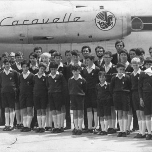 1968 départ pour l'Angleterre