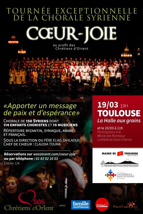Affiche concert 19 mars