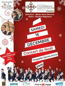 Concert de Noël à la chapelle Sainte-Anne