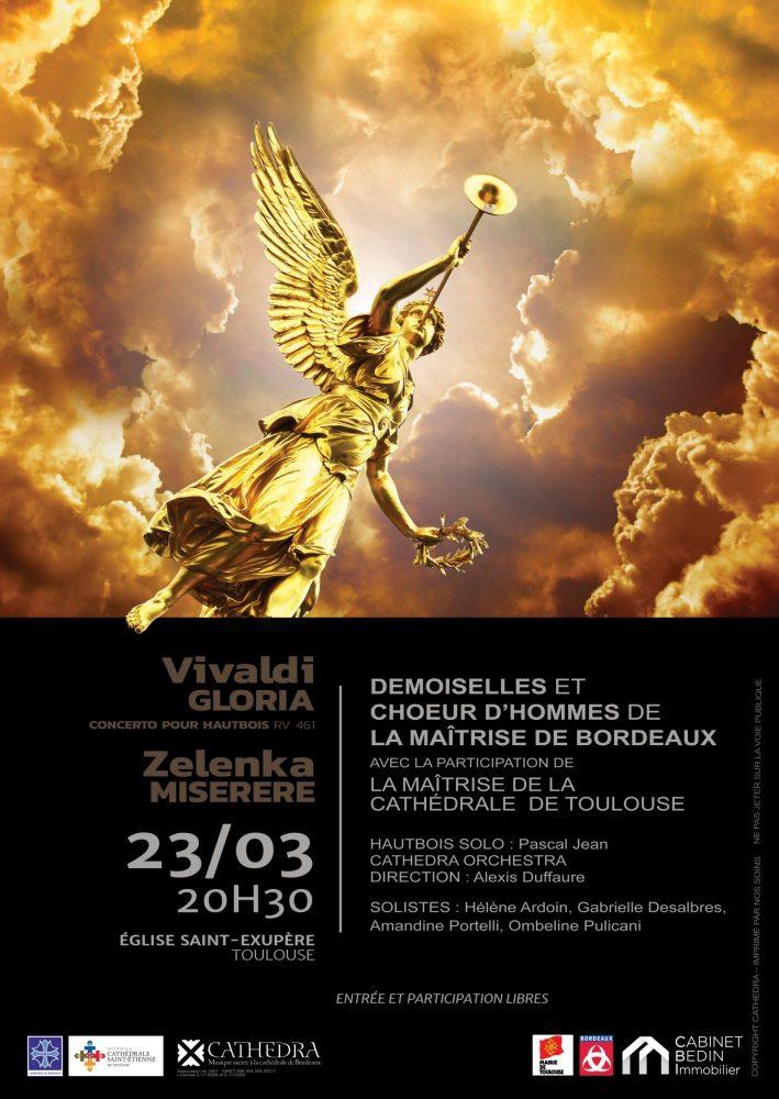 Concert de la Maîtrise de Toulouse et de la Maîtrise de Bordeaux